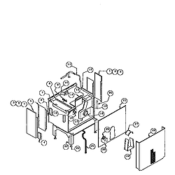 RDDS30VRS Range Drop-in Parts diagram
