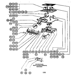 RDSS30RS Range Gas burner box assembly Parts diagram