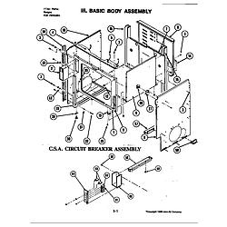 S120C Range Basic body assembly (s120-c) (s120-c) Parts diagram