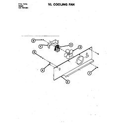 S120C Range Cooling fan (s120) (s120) Parts diagram