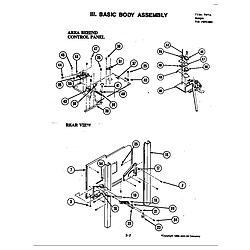 S120C Range Internal controls Parts diagram