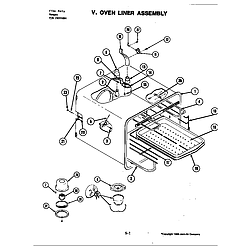 S120C Range Oven Parts diagram