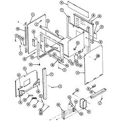 S136 Range Body Parts diagram