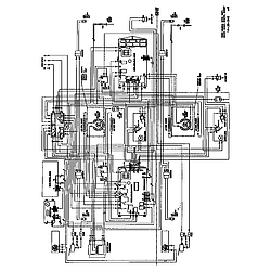 SC272T Built-In Electric Oven Wiring diagram Parts diagram