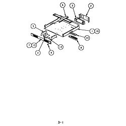 SC302 Built-In Electric Oven Mid plenum, 27 diagram