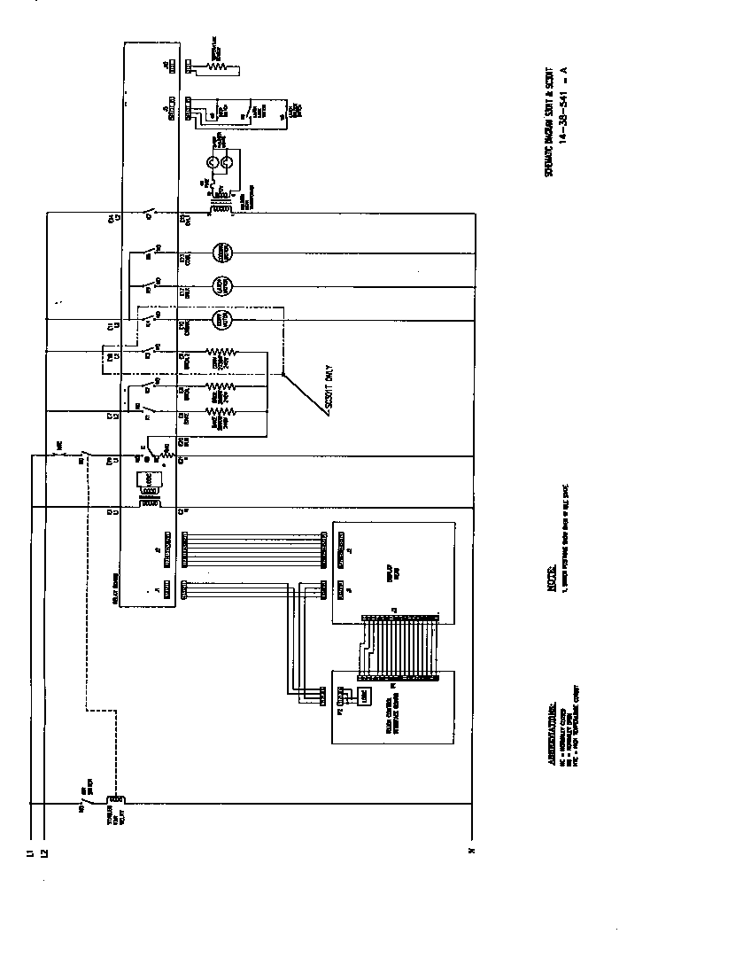 schematic diagram s301t and sc301t s301t s302t sc301t sc302t scd302t parts thermador scd302 built in electric oven timer stove clocks and electric smoker wiring diagram at bakdesigns.co