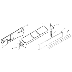 SMU7052UC14 Dishwasher Toe kick Parts diagram