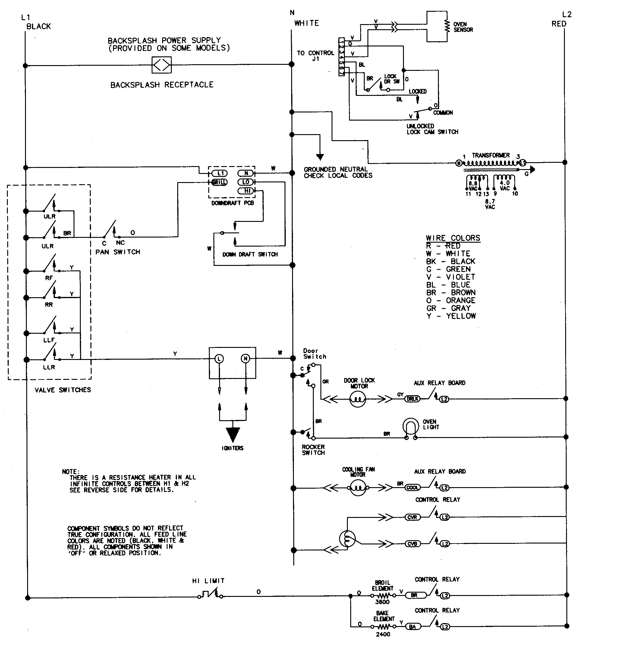 Jenn Air Wiring Diagrams - Wiring Diagrams List Gas Grill Wiring Diagram on