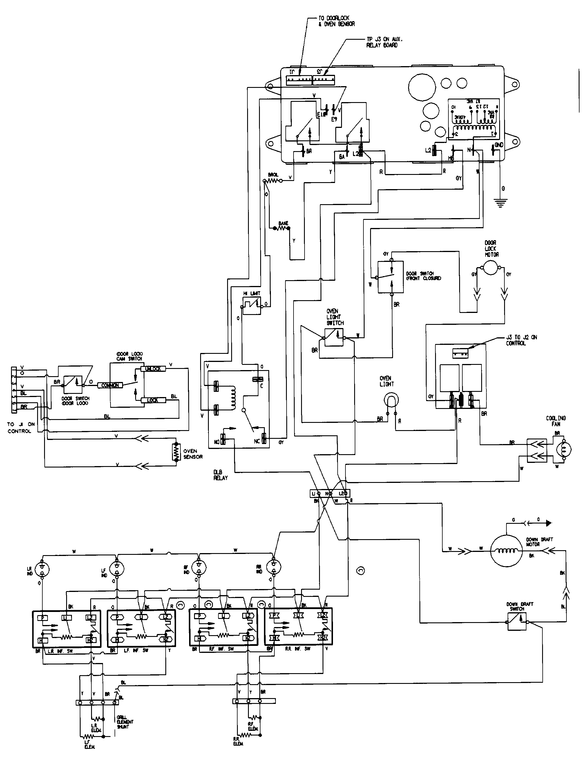 maytag sve47100 electric slide-in range timer - stove ... jenn air double wall oven wiring diagram #13