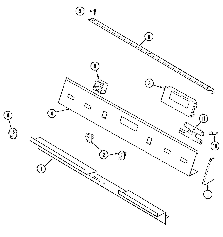 jenn-air sve47100w electric slide-in range timer