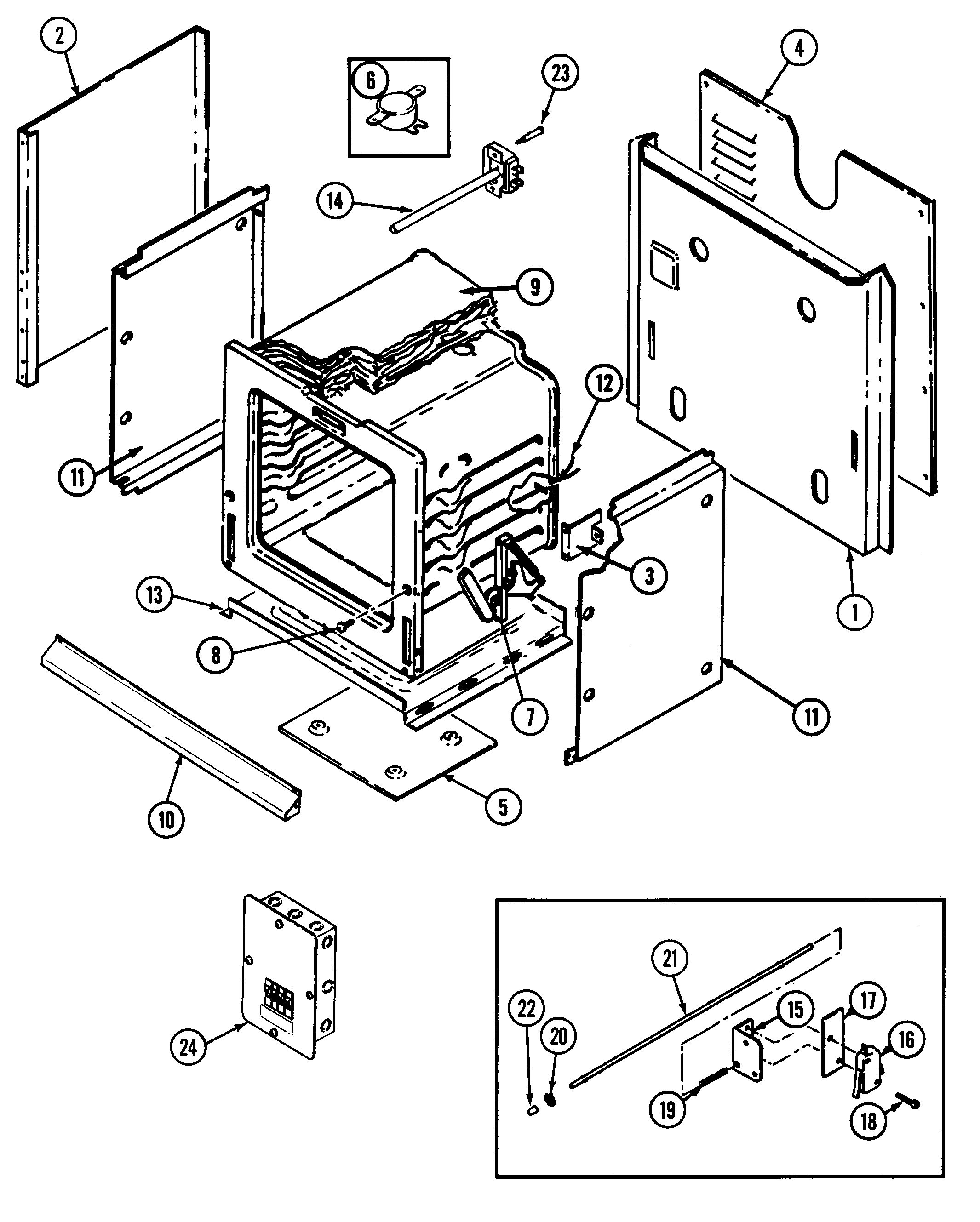 jenn air w131w timer stove clocks and appliance timersw131w range body parts diagram oven parts diagram