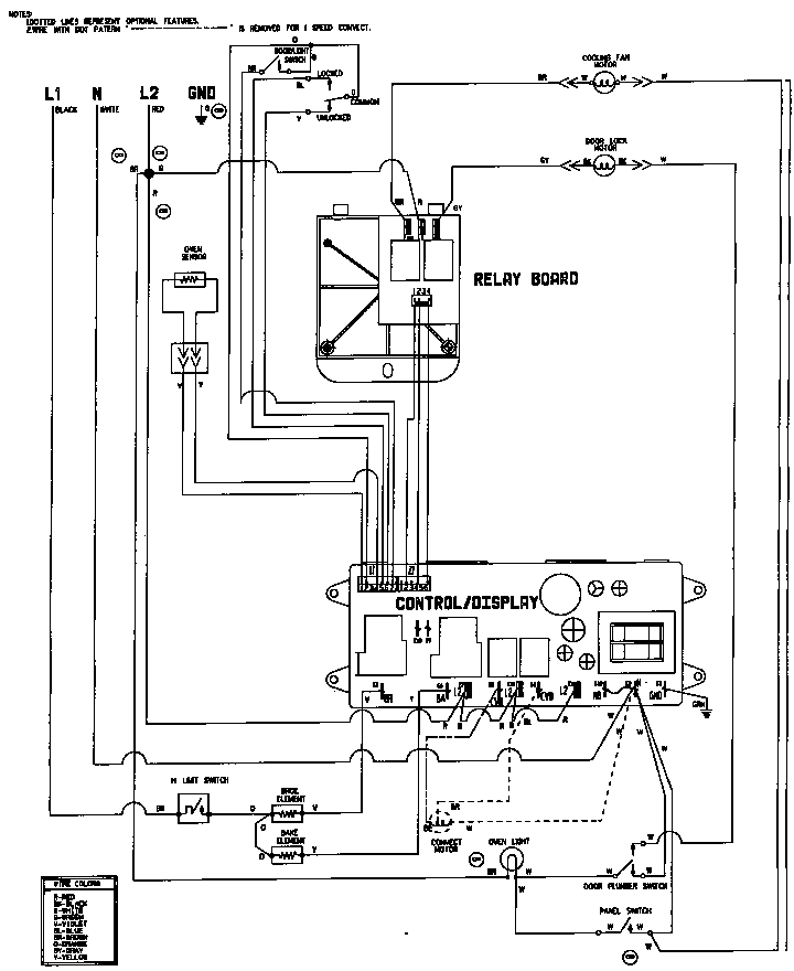 wiring information w27200b w27200w parts aeg oven wiring diagram diagram wiring diagrams for diy car repairs Honeywell Thermostat Wiring Diagram at crackthecode.co