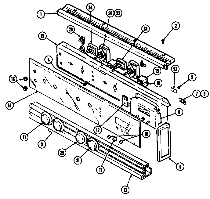 Jenn-air Ww2750w Electric Wall Oven Timer
