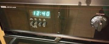 Repaired Display for Jenn Air Stove Clock